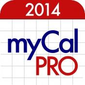 picture of Free myCal PRO iOS Calendar App