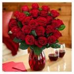 Proflowers two dozen roses with vase