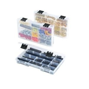 picture of 3 Pack Husky 12 Compartment Parts Bin Organizer Sale