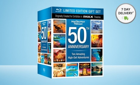picture of IMAX 50th Anniversary 10-Disc Blu-ray Collection 75% Off