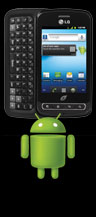picture of LG Optimus Q No Contract Android Smartphone - Free $15 Gift Card