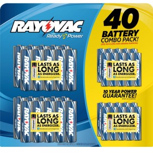 picture of Rayovac 156 AA or AAA Battery Sale