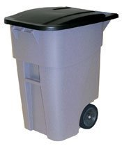 picture of Rubbermaid HDPE 50-Gallon Trash Can Sale