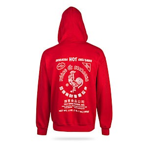 picture of Sriracha Zip-up Hoodie Sale
