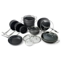 picture of Amazon 1 Day Cuisinart 17 Piece Nonstick Cookware Set