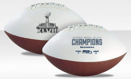 picture of Full-Size Seattle Seahawks Championship Football Sale