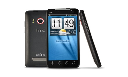 picture of HTC EVO 4G with FreedomPop Discount SmartPhone Service