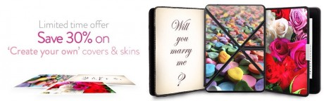 picture of 30% off Custom Kindle Accessories