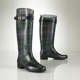 picture of Ralph Lauren Tartan Rain Boot Sale
