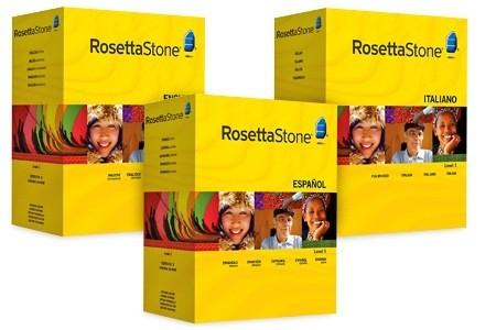 Rosetta Stone Level 1-4 Sale
