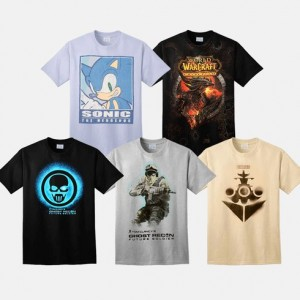 picture of 2-pk Video Game Shirts Sale