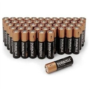 100 Pack Duracell AA Battery Sale