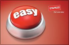 picture of $100 Staples Gift Card + Bonus $10 Card - Email Delivery