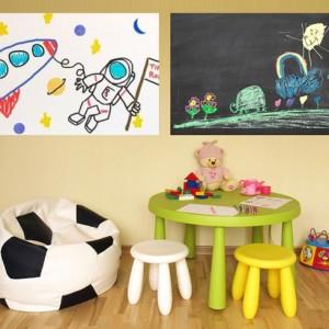 6-Foot Whiteboard or Chalkboard Wall Decal Sale