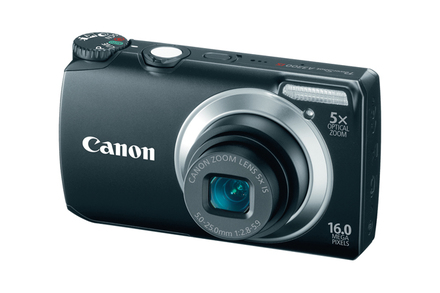 picture of Canon PowerShot A3500 IS 16.0 MP Wi-Fi Digital Camera Sale