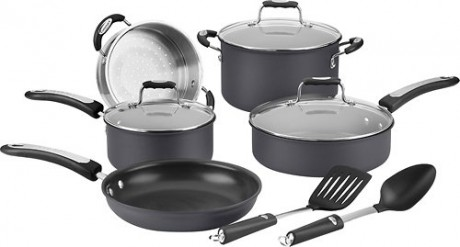 picture of Cuisinart 10-piece Hard Anodized Cookware Set Sale