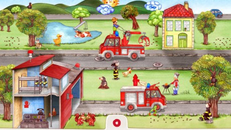 picture of Free Tiny Firefighters iOS App