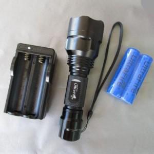 picture of UltraFire C8 CREE Flashlight Kit Sale