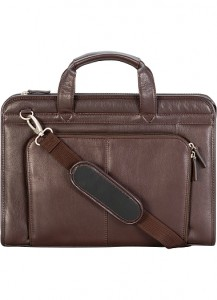 picture of Wilson's Leather Top-Zip Leather Briefcase Sale