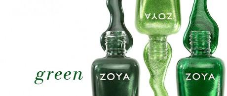 picture of Zoya Free Green Nail Polish
