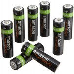 8-Pack of AmazonBasics AA NiMH Precharged Rechargeable Battery Sale