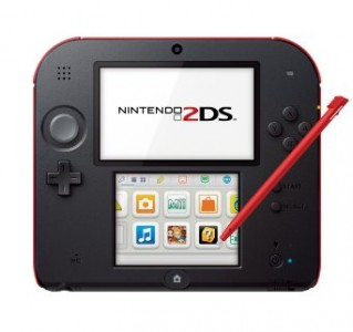 Nintendo Red 2DS console sale