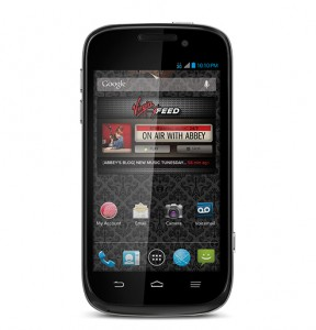 picture of Virgin Mobile AWE No Contract Smartphone 50% off Sale