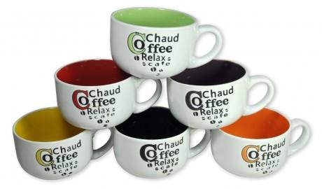 picture of Francois et Mimi 6-pk Ceramic Coffee Mugs Sale