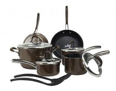 picture of Farberware 12 Piece Kitchen Teflon Nonstick Cookware Sale