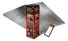 Reach garage barrier insulation