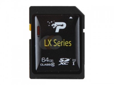 picture of Patriot 64GB Class 10 SDXC Memory Card Sale