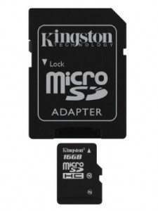 picture of Kingston SDHC Memory Sale 16GB - $8 / 32GB - $16