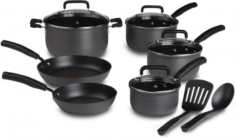 picture of T-fal Anodized 12-pc Cookware Set Sale