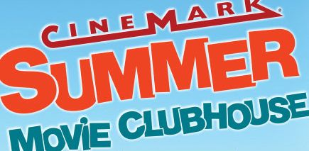 picture of Cinemark Summer Movie ClubHouse $5 for 10 movies