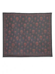 picture of Alexander McQueen Silk Skull Scarf Sale