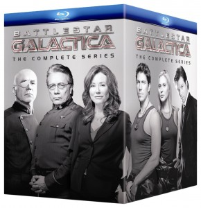 picture of Battlestar Galactica: The Complete Series Blu-ray Sale
