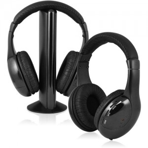 picture of Ematic 2-Pack Wireless Headphones w/Transmitter Sale