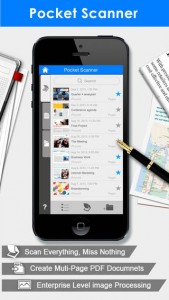 picture of Free Pocket Scanner iOS App