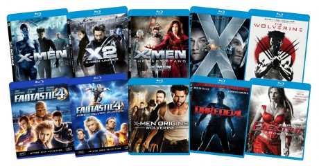 picture of Marvel Blu-ray Bundle, 10 movies on 1 disc