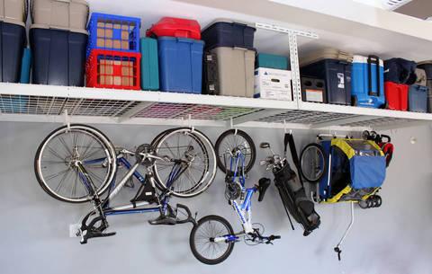 Saferacks Overhead Garage Storage Sale 158 00 Buyvia