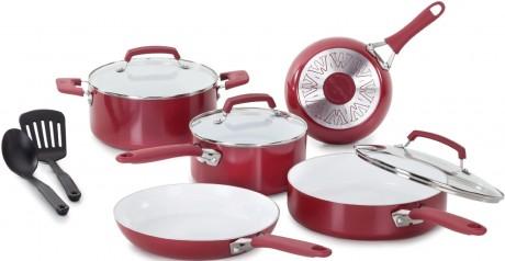 picture of WearEver 10-pc. Nonstick Ceramic Cookware Set Sale