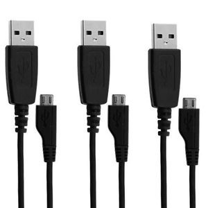 Samsung 3pk microUSB Charging Cables Blowout Sale