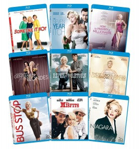 picture of Marilyn Monroe: Classic 9 Film Blu-ray Collection Sale