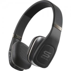 picture of SOUL Electronics sv3blk Volt Bluetooth Pro Hi-Definition On-Ear Headphones Sale