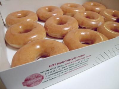 Krispy Kreme Glazed Donuts Sale