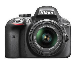 Nikon D3300 DSLR Camera & 18-55mm Lens Sale