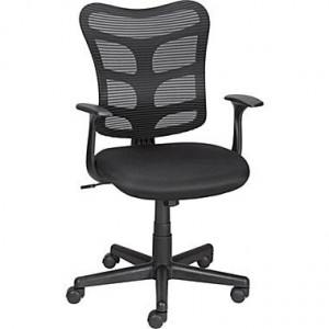 staples_RONCER_mesh-chair-black