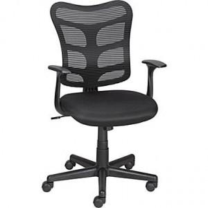 staples_RONCER_mesh-chair-black