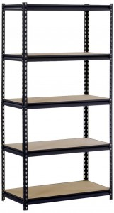 Edsal Steel 5-Shelf Heavy Duty Shelving Unit Sale
