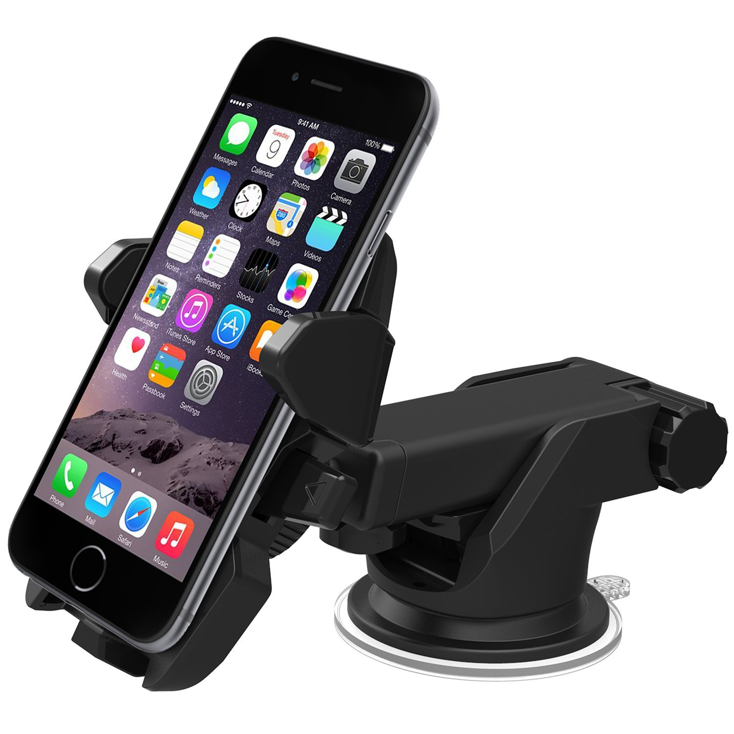 iOttie Easy One Touch 3 Car Mount Smartphone Holder Sale $24.95  Free Shipping from B&H Photo